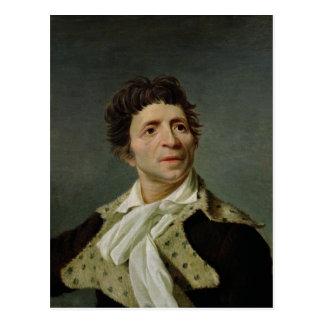 Retrato de Marat 1793 Postal