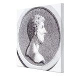 Retrato de Marco Aurelius Impresion De Lienzo