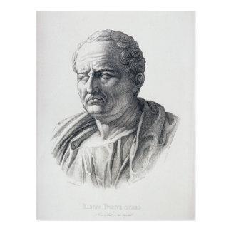 Retrato de Marco Tullius Cicero Postal
