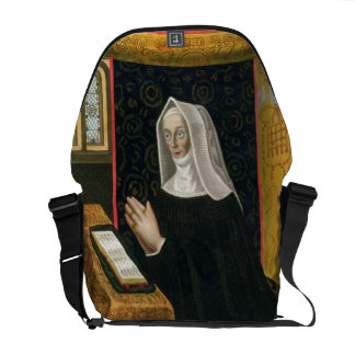 Retrato de Margaret Beaufort, condesa de Richmon Bolsa De Mensajeria