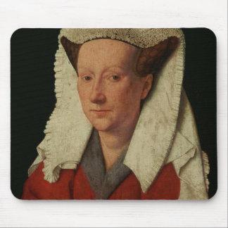 Retrato de Margaret van Eyck, 1439 Tapetes De Ratones