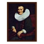 Retrato de Margaretha De Geer, esposa del viaje de Tarjetas Postales