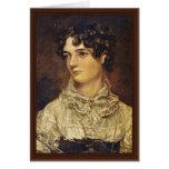 Retrato de Maria Bicknell, por el policía Juan (se Tarjeton