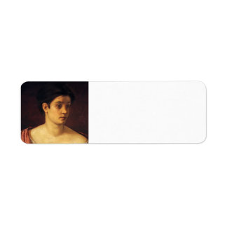 Retrato de Maria Cassatt- de una mujer Etiquetas De Remite