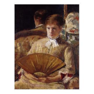 Retrato de Maria Cassatt- de una señora (Srta. My  Tarjetas Postales