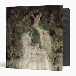 Retrato de Maria Kusnetso va-Benois como Carmen