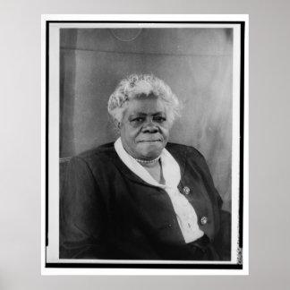 Retrato de Maria McLeod Bethune Póster