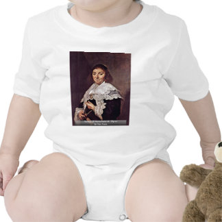 Retrato de Maria Pietersdr. Olycan de Hals Trajes De Bebé