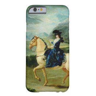 Retrato de Maria Teresa de Vallabriga en horsebac Funda Barely There iPhone 6
