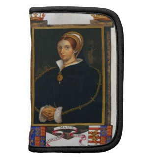 Retrato de Maria Tudor, de las 'memorias de la cor Planificador