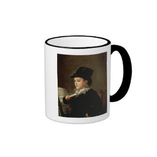 Retrato de Marianito Goya Tazas De Café