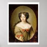 Retrato de Marie-Anne Mancini (1646-1714) c.1670 Impresiones
