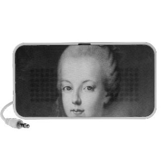 Retrato de Marie-Antonieta de Habsburgo Laptop Altavoz