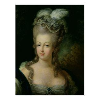 Retrato de Marie-Antonieta Postal