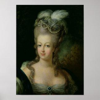 Retrato de Marie-Antonieta Póster