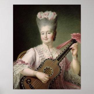 Retrato de Marie-Clothilde de Francia Impresiones