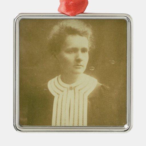 Retrato de Marie Curie Adorno De Navidad
