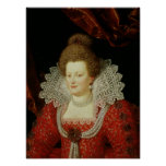 Retrato de Marie de Medici Poster
