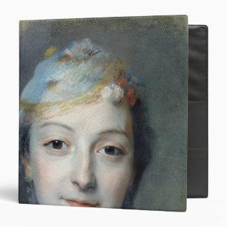 "Retrato de Marie Fel 1757 Carpeta 1 1/2"""