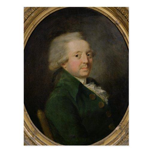 Retrato de Marie-Jean-Antoine-Nicolás Postales
