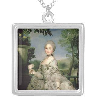 Retrato de Marie-Louise de Borbón Colgante Cuadrado