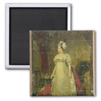 Retrato de Marie-Teresa-Charlotte de Francia Imanes