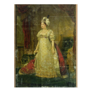 Retrato de Marie-Teresa-Charlotte de Francia Tarjetas Postales