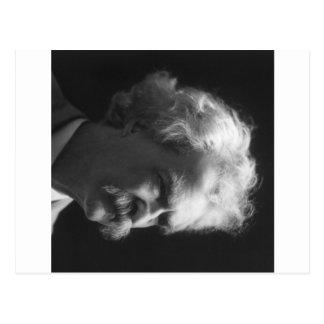 Retrato de Mark Twain Tarjetas Postales