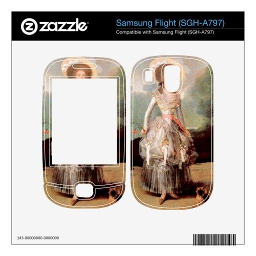 Retrato de Marquesa de Pontejos Sandoval por Goya Samsung Flight Skins