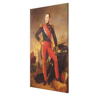 Retrato de Marquis Manuel de Grouchy Impresión En Lienzo