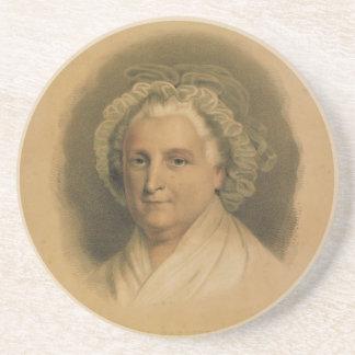 Retrato de Martha Washington por curtidor y Ives