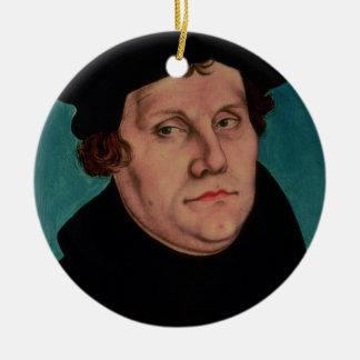 Retrato de Martin Luther, 1529 Adorno Redondo De Cerámica