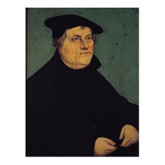 Retrato de Martin Luther 1543 Postal