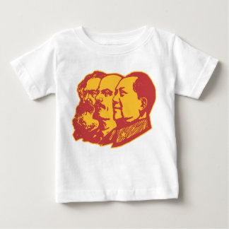 Retrato de Marx Lenin Mao Playeras