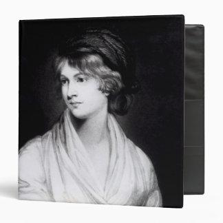 "Retrato de Mary Wollstonecraft Godwin Carpeta 1 1/2"""