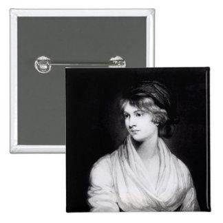 Retrato de Mary Wollstonecraft Godwin Pins