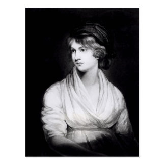 Retrato de Mary Wollstonecraft Godwin Postales