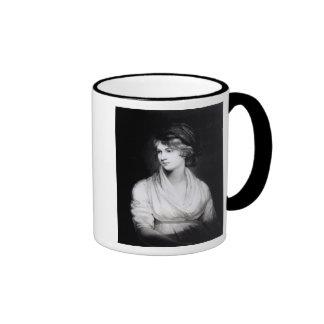 Retrato de Mary Wollstonecraft Godwin Taza De Dos Colores