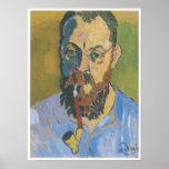 Retrato de Matisse, 1905 Poster