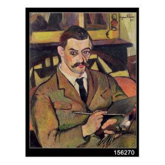Retrato de Maurice Utrillo 1921 Postales