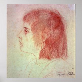 Retrato de Maurice Utrillo como niño Impresiones