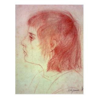 Retrato de Maurice Utrillo como niño Postal
