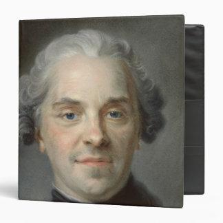 """Retrato de Mauricio, Comte de Saxe 1747 Carpeta 1 1/2"""""""
