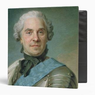 """Retrato de Mauricio Comte de Saxe Carpeta 1 1/2"""""""