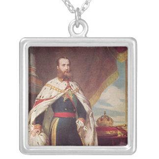 Retrato de Maximiliano Colgante Cuadrado