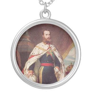 Retrato de Maximiliano Colgante Redondo