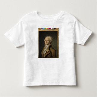 Retrato de Maximiliano de Robespierre Camisetas
