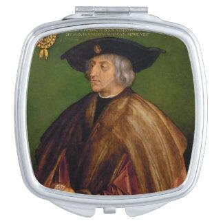 Retrato de Maximiliano I de Albrecht Durer Espejo Maquillaje