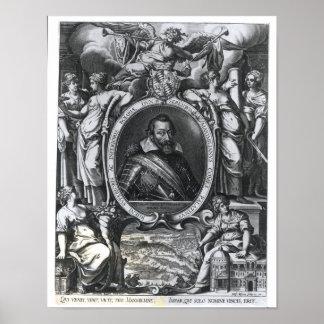 Retrato de Maximiliano I de Baviera Póster