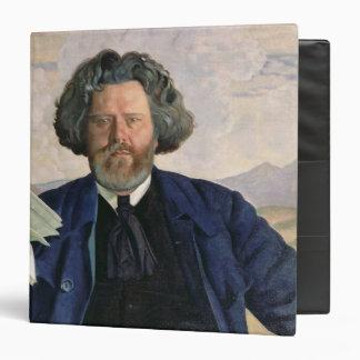 "Retrato de Maximiliano Voloshin 1924 Carpeta 1 1/2"""